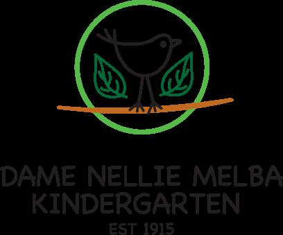 Dame Nellie Melba Kindergarten Logo