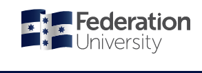 FedUni Children's Centre at Mt Helen Logo