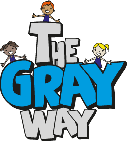Gray Preschool Logo
