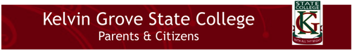Kelvin Grove State College OSHC Logo