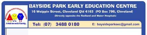 Bayside Park Early Education Centre